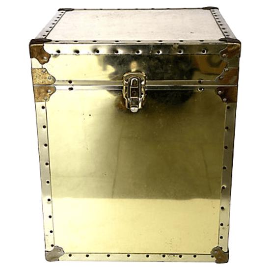 brass trunk