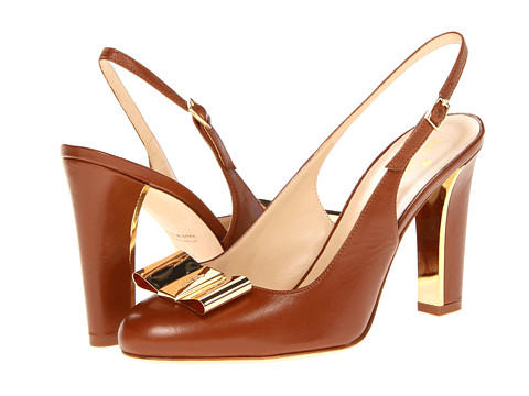 kate spade sling back with bow