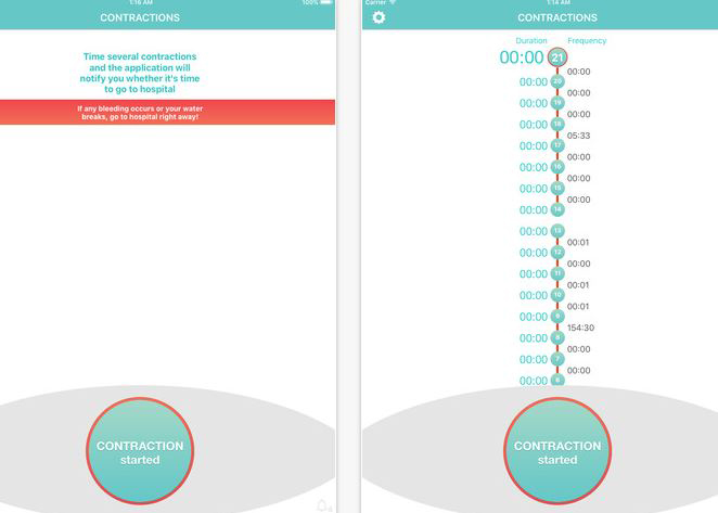 10-5-contraction-timer-app